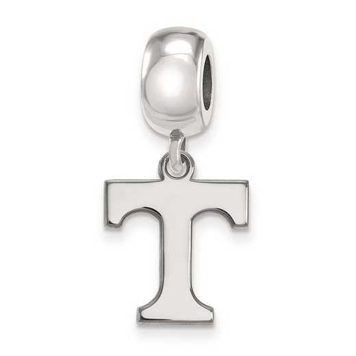 SS036UTN: SS Rh-P Logoart Univ Of Tennessee Small Reflection Beads