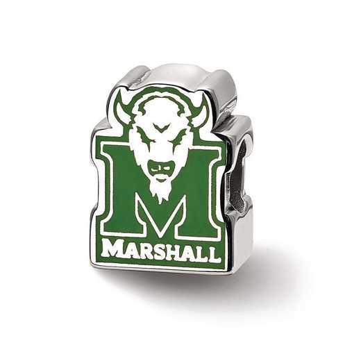 SS500MAU: SS Logoart Marshall U M Head Logo Reflection Beads