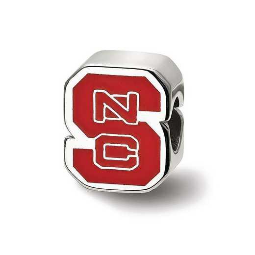 SS500NCS: SS Logoart North Carolina St. U Logo Reflection Beads