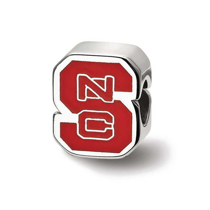 SS500NCS: SS Logoart North Carolina St. U Logo Reflection Beads