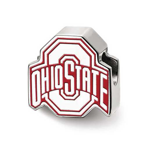 "SS500OSU: SS The Ohio St. U Block ""O"" Extruded Logo Reflection Beads"