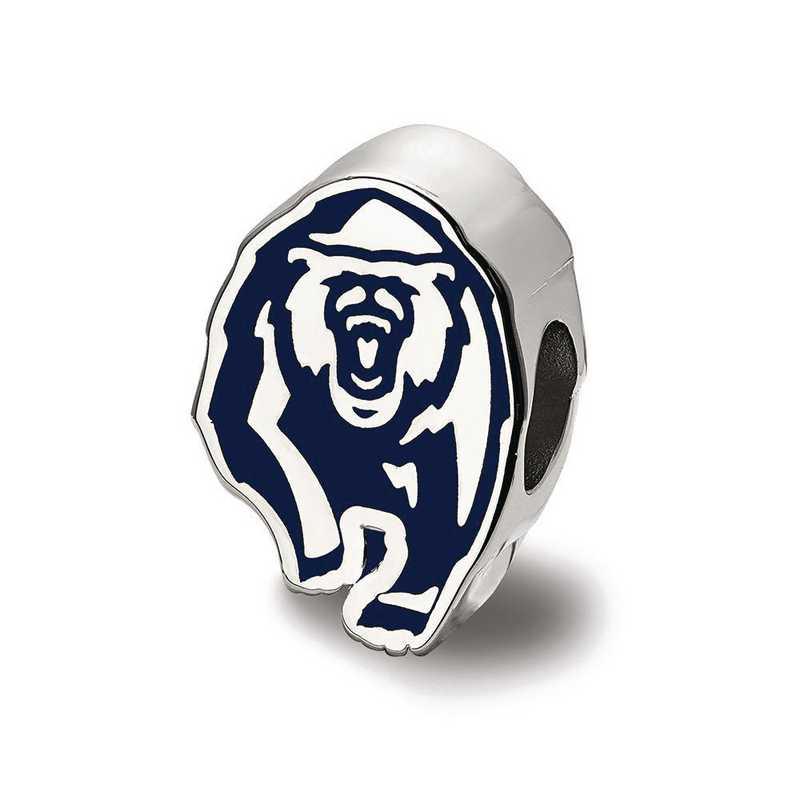 SS500UCB: SS Logoart U Of California Berkeley Bear Reflection Beads