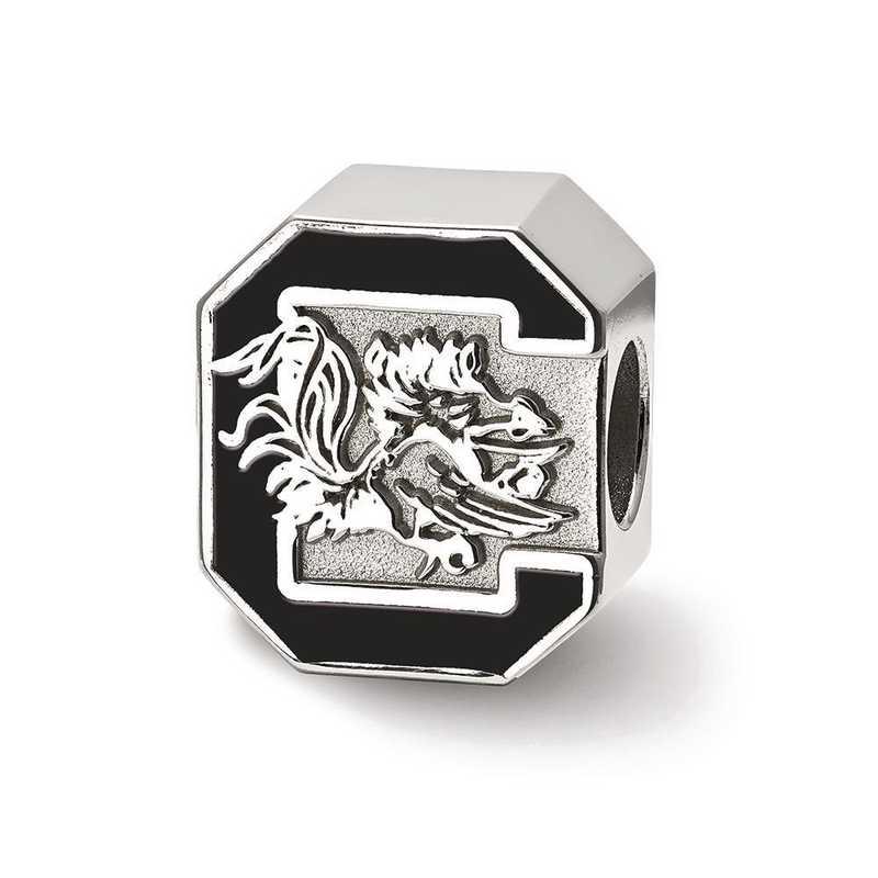 SS500USO: SS Logoart U Of South Carolina Logo Reflection Beads