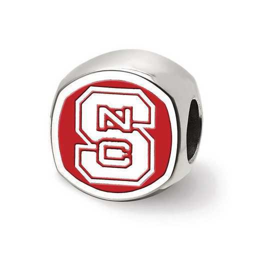 SS501NCS: SS Logoart N Carolina St. U Cushion Logo Reflection Beads