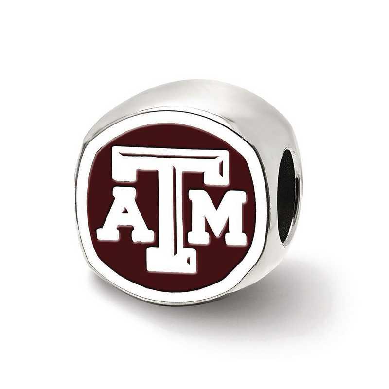 SS501TAM: SS Logoart Texas A&M U Atm Cushion Logo Reflection Beads