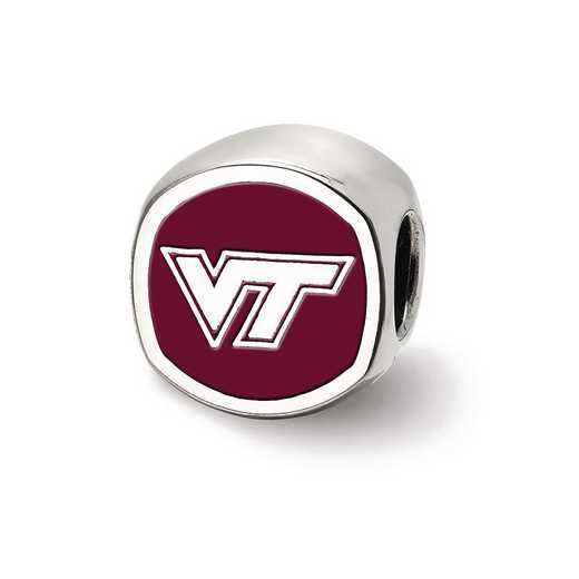 SS501VTE: SS Logoart Virginia Tech Vt Cushion Logo Reflection Beads