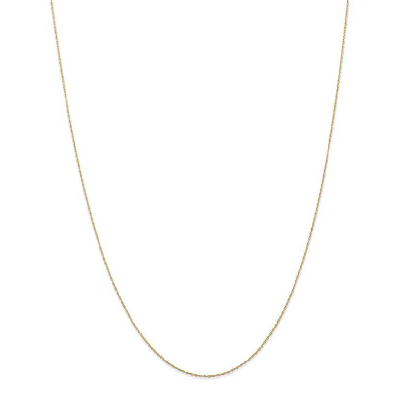 5RY-18: 14KYG .5MM 18IN Cable Rope Chain