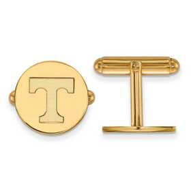 GP012UTN: LogoArt NCAA Cufflinks - Tennessee - Yellow