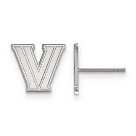 SS006VIL: 925 LogoArt Villanova University Post Ears
