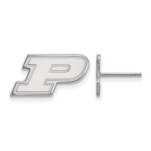 SS008PU: 925 LogoArt Purdue Post Ears