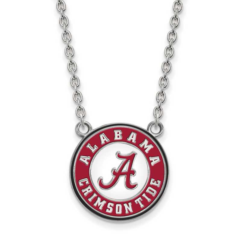 Gold-Plated Sterling Silver University of Alabama Small Enamel LogoArt Pendant