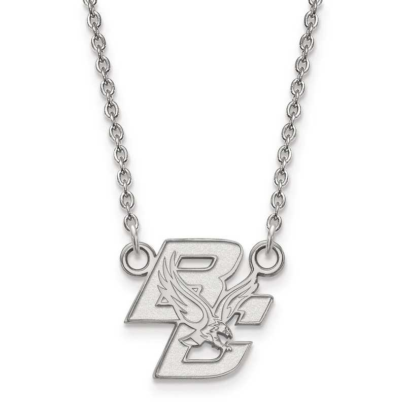 SS013BOC-18: 925 LogoArt Boston College Pendant Necklace