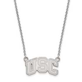 SS031USC-18: 925 Univ of Southern California Pendant Necklace