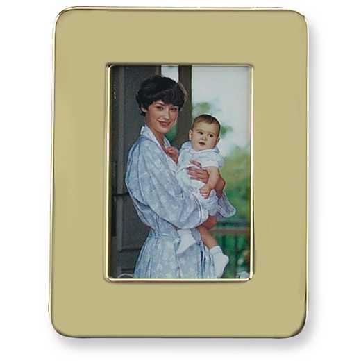 GL9480: Solid Brass 5x7 Photo Frame