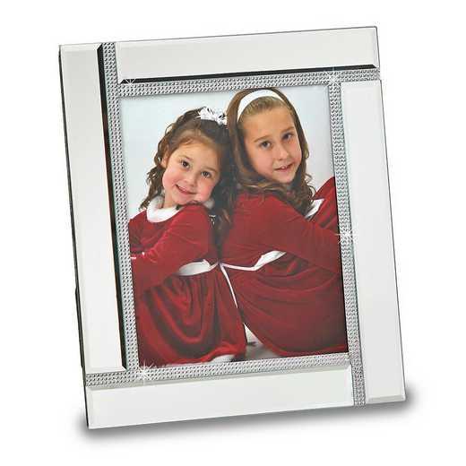 GM14675: Glass Mirror 8x10 Photo Frame