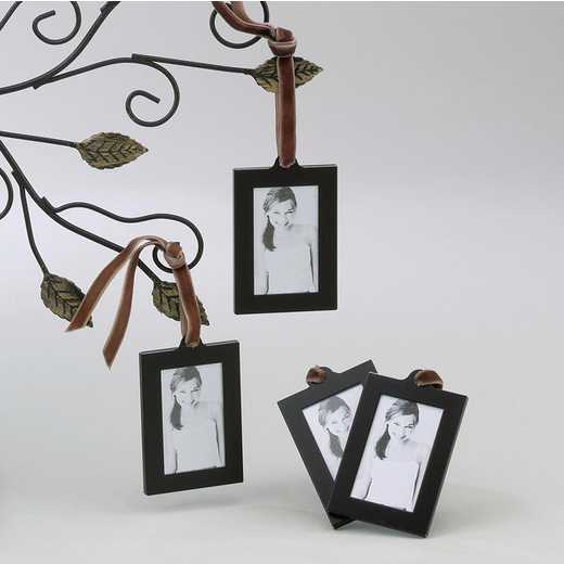 GM1922: Set of 4 Aluminum Hanging Wallet Size Frames