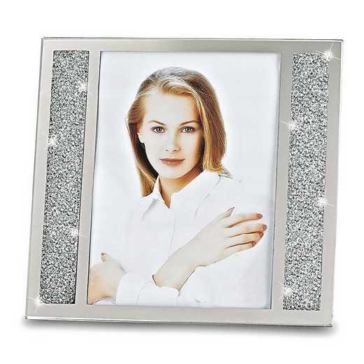 GM19725: Badash Crystal Lucerne Crystalized 8x10 Photo Frame