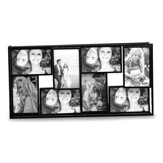 GM21610: Black Metal 4x6 Photo Collage Frame