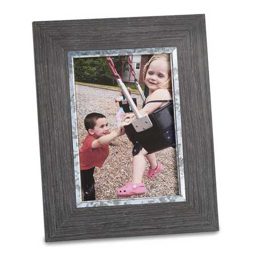 GM21840: Weathered Grey Wood 5 x 7 Frame