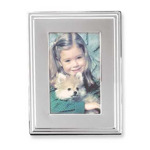 GP9997: Silver Plated 5x7 Photo Frame