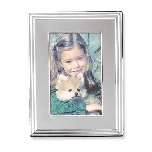 GP9998: Silver Plated Polished 8x10 Photo Frame