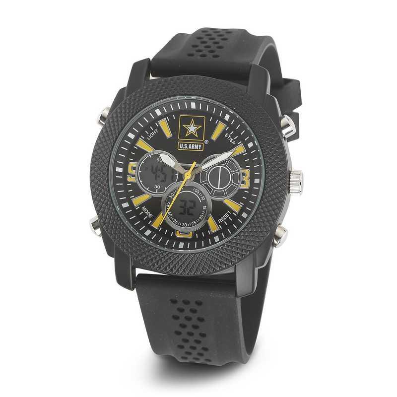 XWA4547: USA Wrist Armor C21 Blk/Yellow Watch