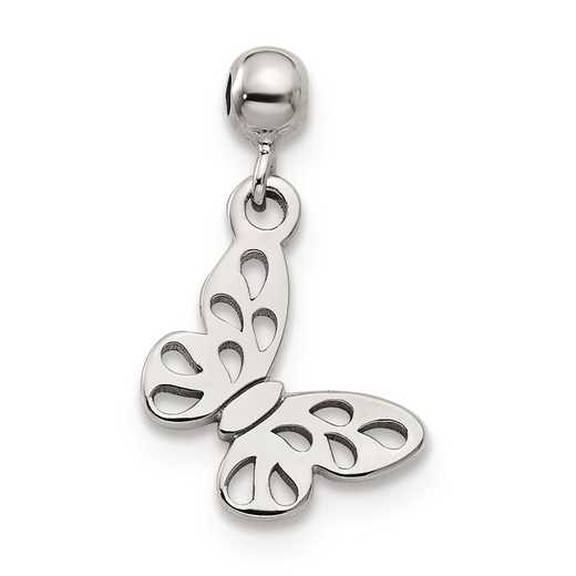 QMM102: 925 Mio Memento Dangle Butterfly Charm
