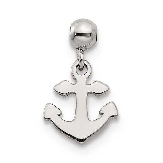 QMM157: 925 Mio Memento Dangle Anchor Charm