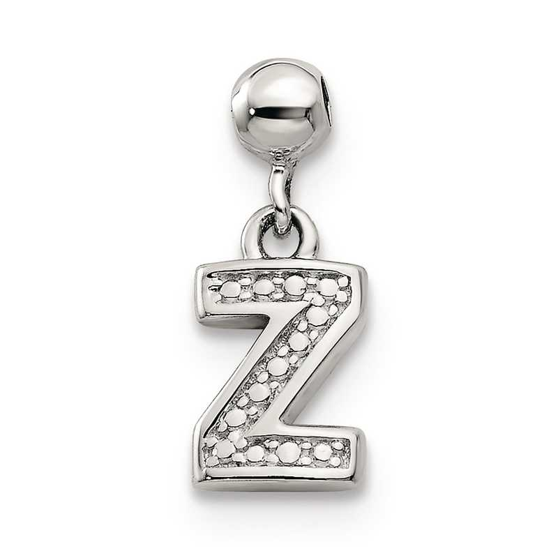 QMM190Z: 925 Mio Memento Dangle Letter Z Charm