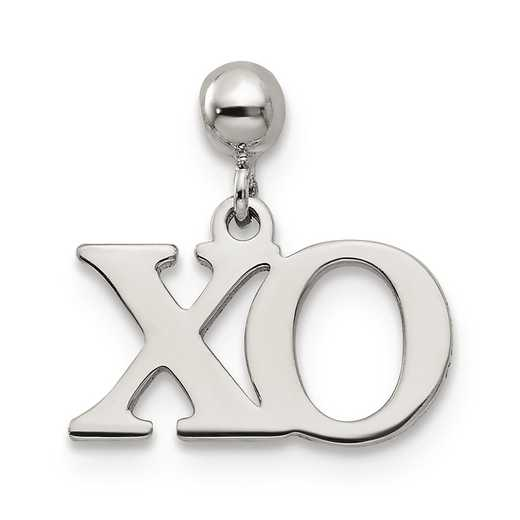 QMM211: 925 Mio Memento Dangle XO Charm