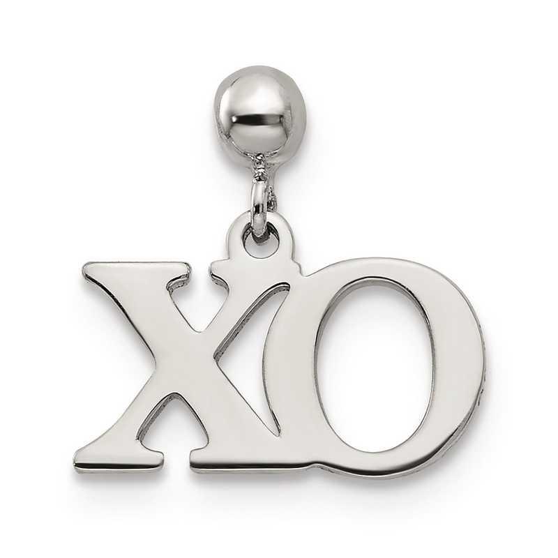 QMM211: 925 Mio Memento Dangle XO Charm