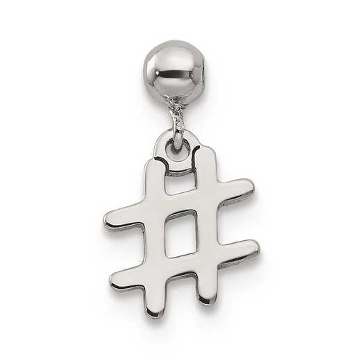 QMM213: 925 Mio Memento Dangle # Charm