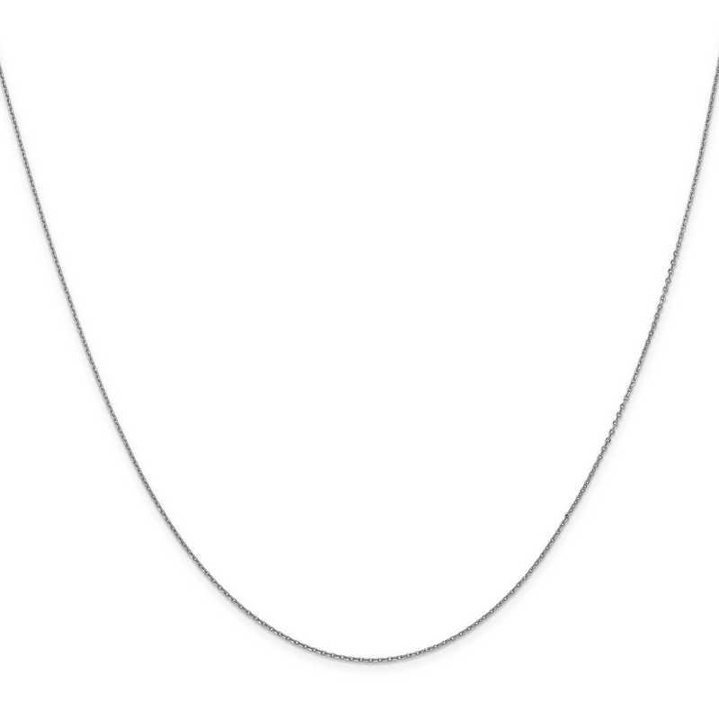 QMM100-18: 925 Mio Memento Rhodium-Plated CZ 18in Chain