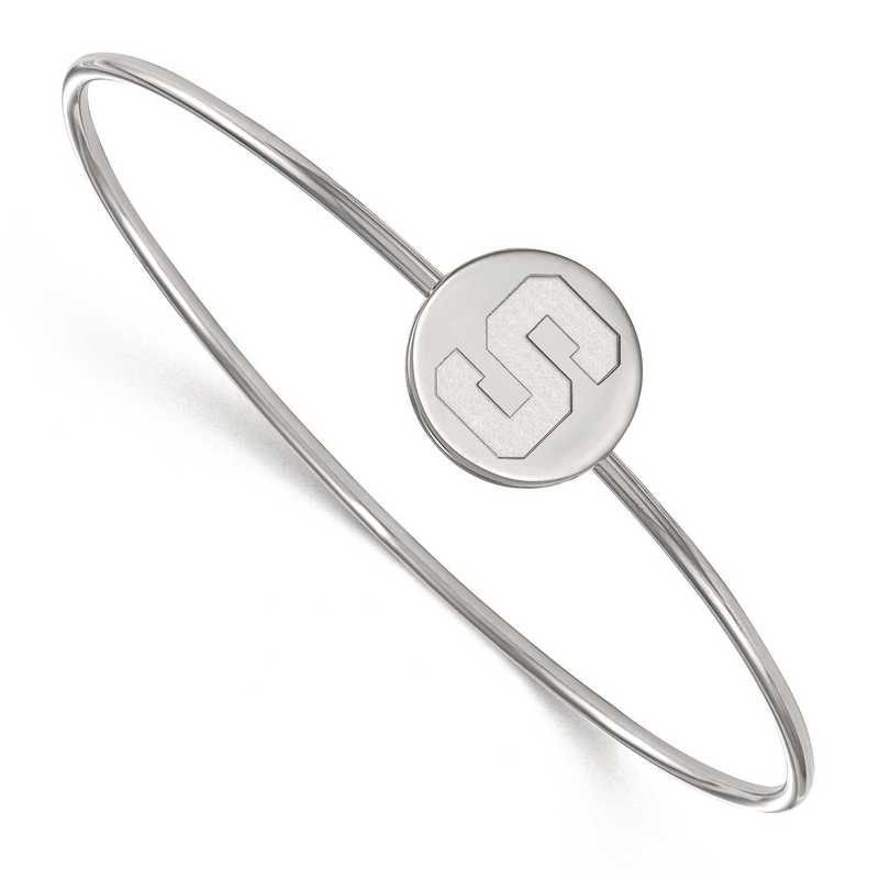 SS014MIS-7: SS LogoArt Michigan St Univ Bangle Slip on