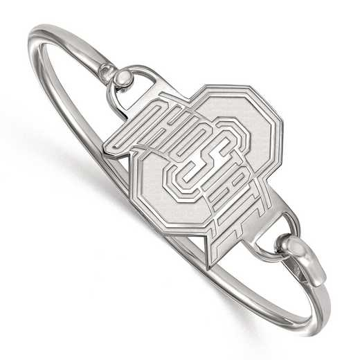 SS021OSU-7: SS LogoArt Ohio St Univ Bangle