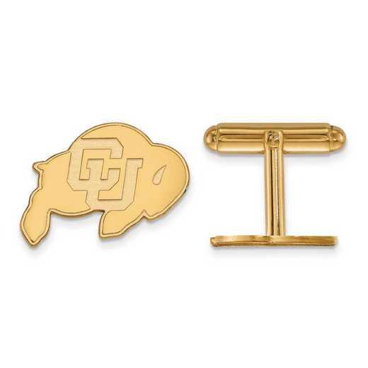 GP010UCO: SS GP LogoArt University of Colorado Cuff Link