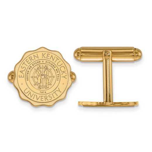 GP018EKU: SS GP LogoArt Eastern Kentucky University Crest Cuff Link