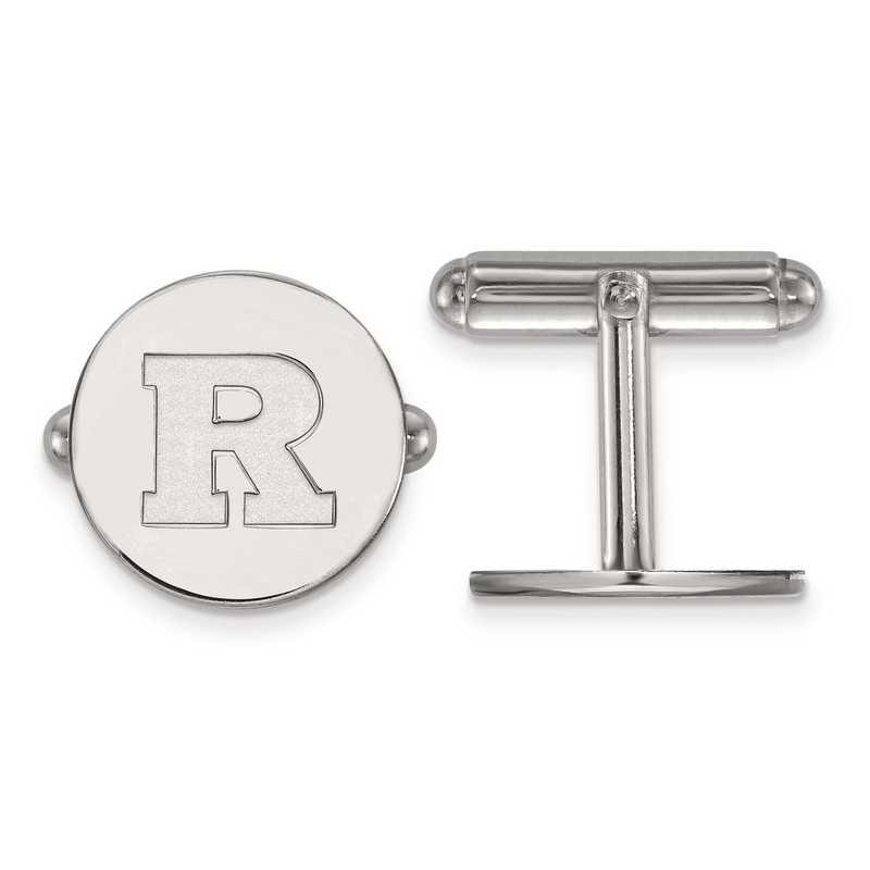 SS007RUT: SS LogoArt Rutgers Cuff Link