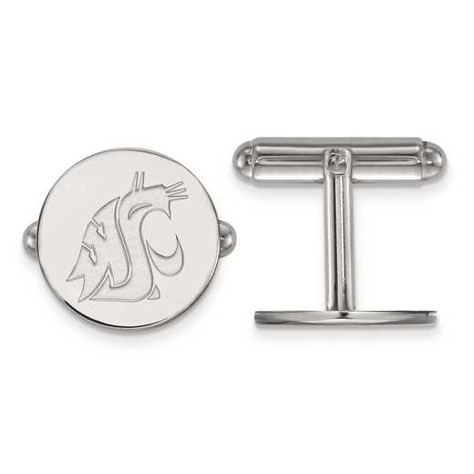 SS009WAS: SS LogoArt Washington State Cuff Link
