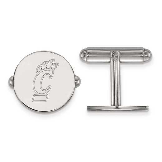 SS010UC: SS LogoArt University of Cincinnati Cuff Link
