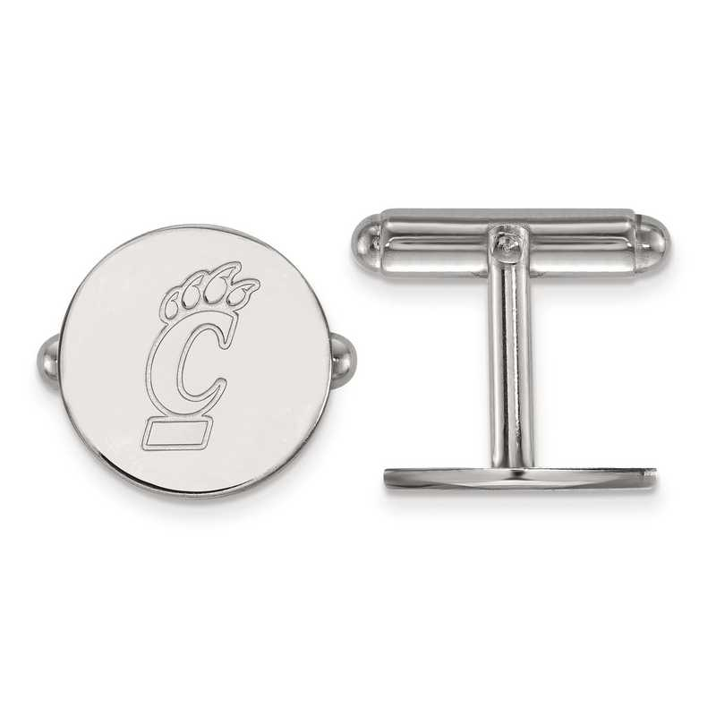 SS010UC: SS LogoArt University of Cincinnati Cuff Link