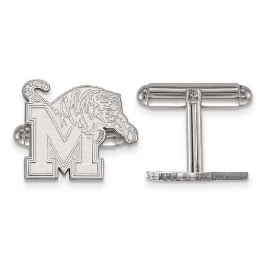 SS010UMP: SS LogoArt University of Memphis Cuff Link