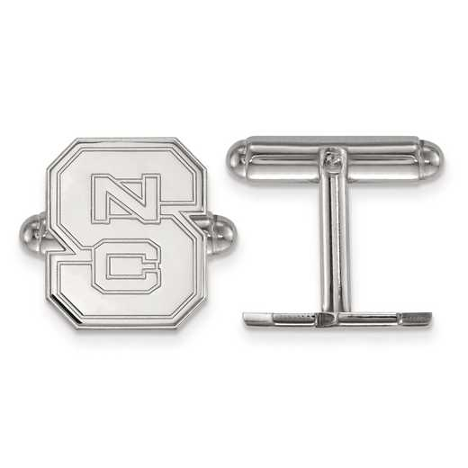 SS012NCS: SS LogoArt North Carolina State University Cuff Link