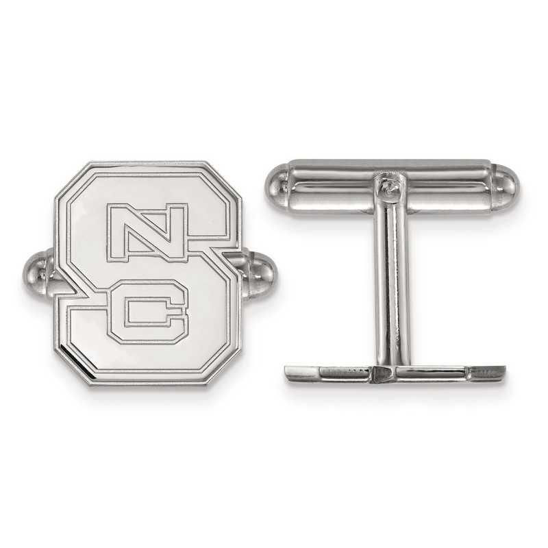 SS012NCS: SS LogoArt North Carolina State University Cuff Link