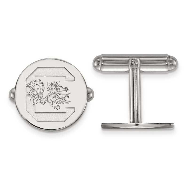 SS012USO: SS LogoArt University of South Carolina Cuff Link