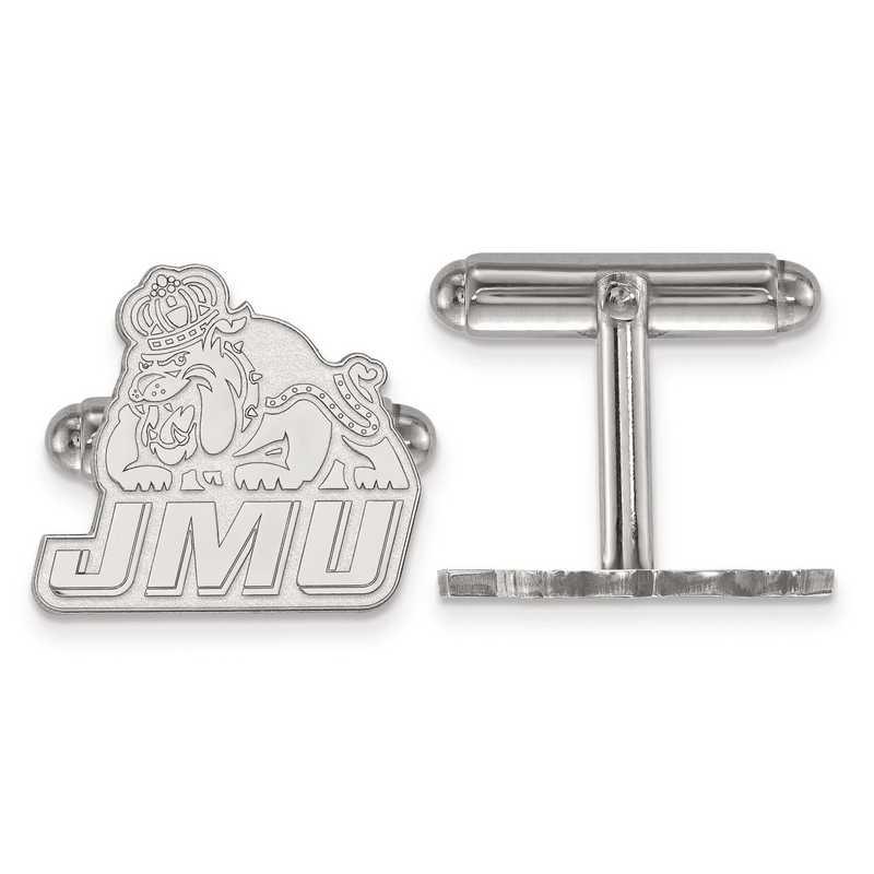 SS020JMU: SS LogoArt James Madison University Cuff Links