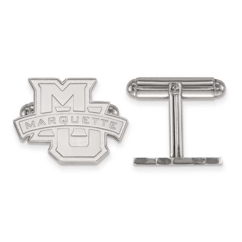 SS029MAR: SS LogoArt Marquette University Cuff Links