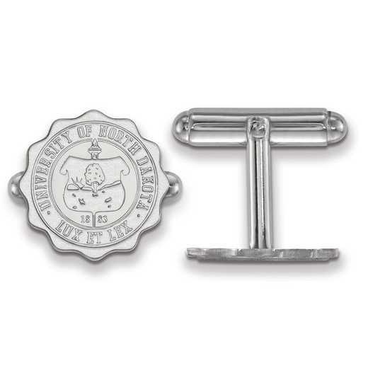 SS031UNOD: SS LogoArt University of North Dakota Crest Cuff Link