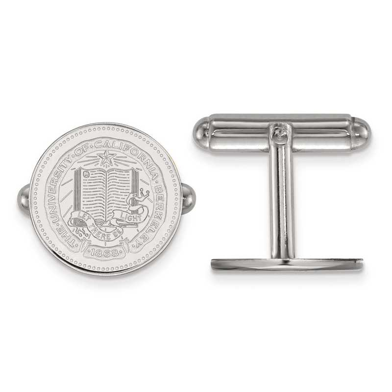 SS041UCB: SS LogoArt University of California Berkeley Crest Cuff Link