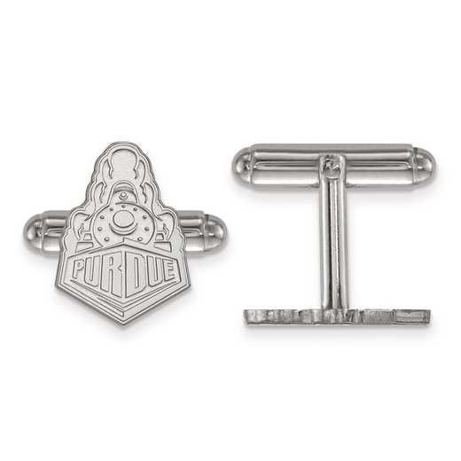 SS047PU: SS LogoArt Purdue Cuff Link